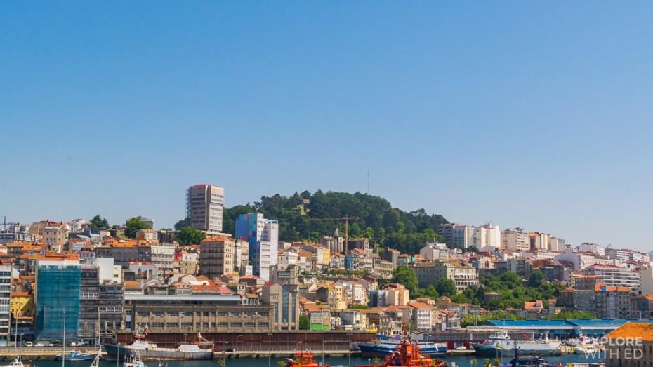 Cruise ship port of Vigo