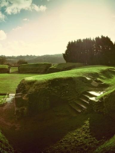 Amphitheatre Caerleon, Roman remains in Wales