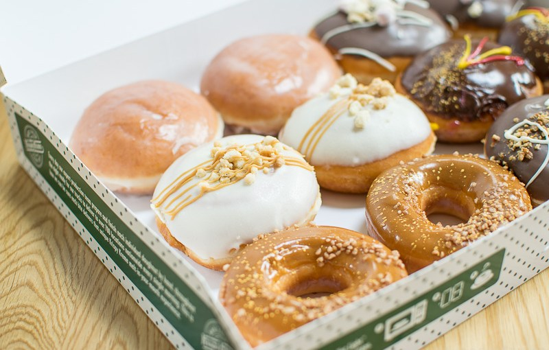 Krispy Kreme Box of New Flavours #Ad
