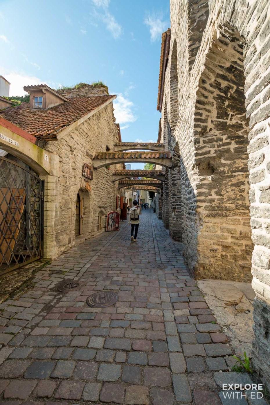 St Catherine's Passage in Tallinn