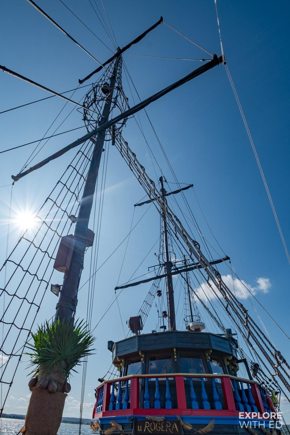 Onboard the Sopot Pirate Ship