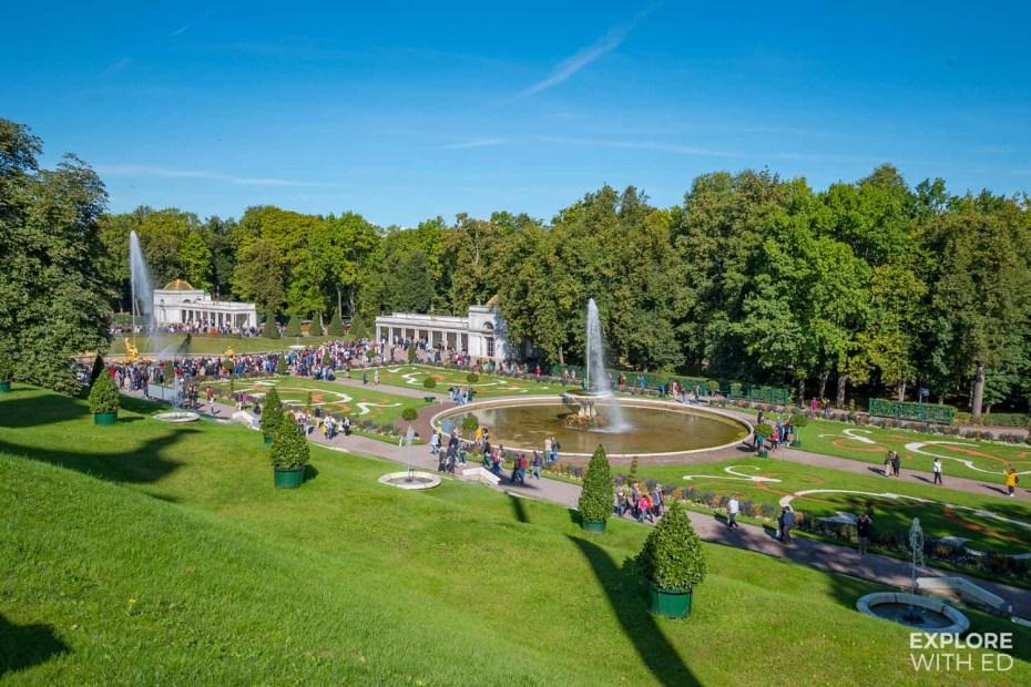 Peterhof Palace gardens