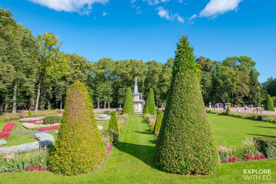 The Lower Gardens of Peterhof Palace