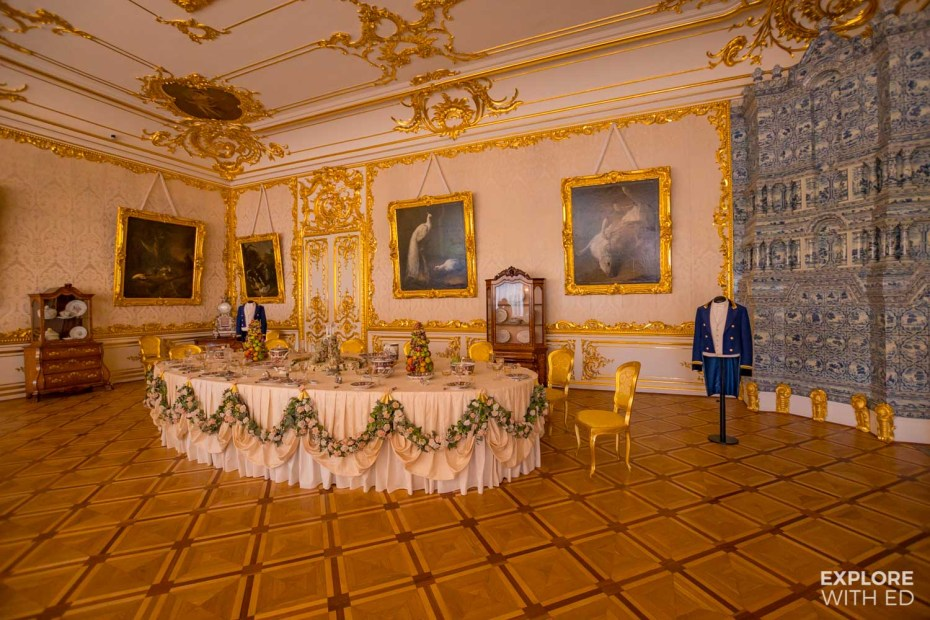 Inside The Catherine Palace