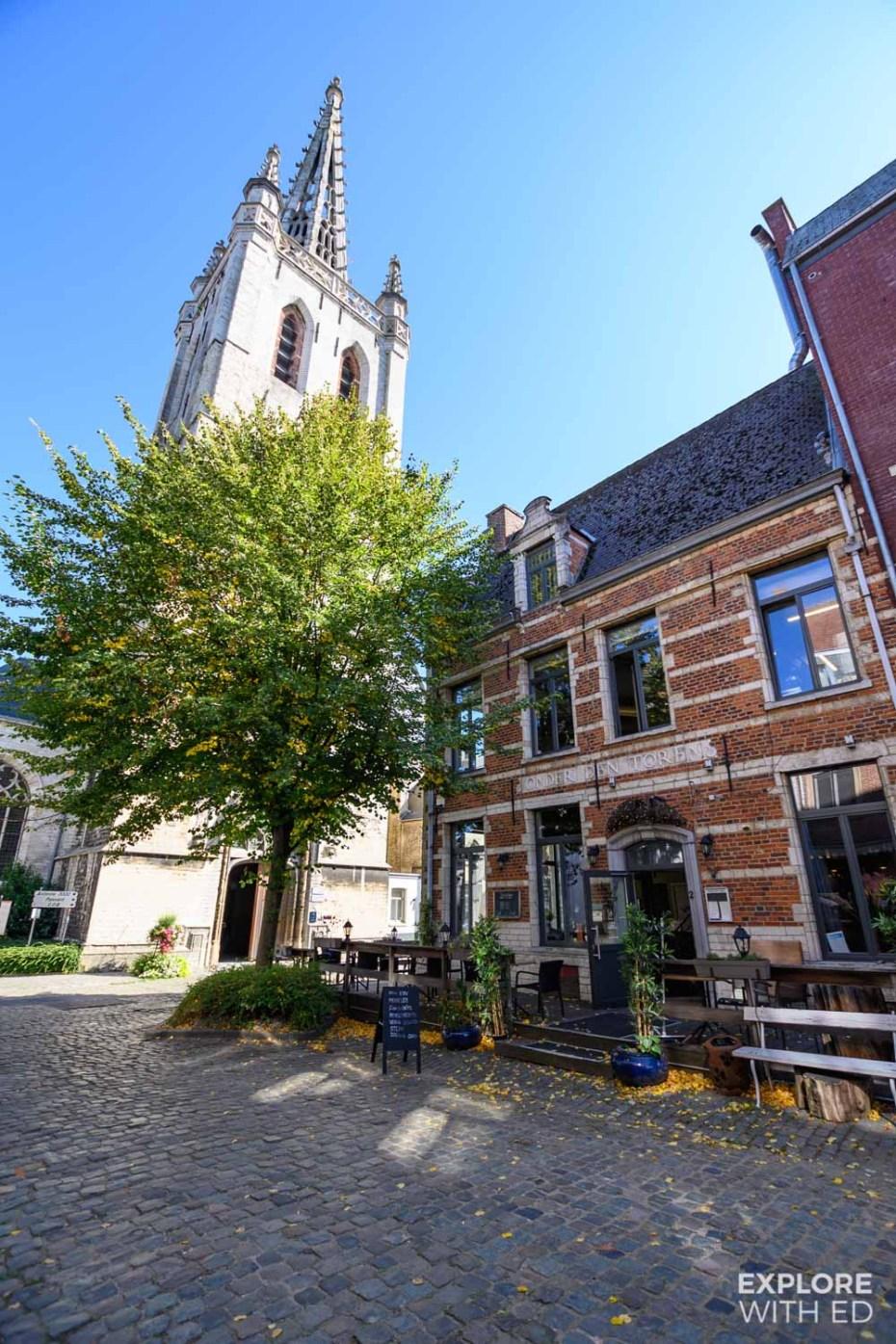 St Gertrude's Abbey in Leuven, Belgium
