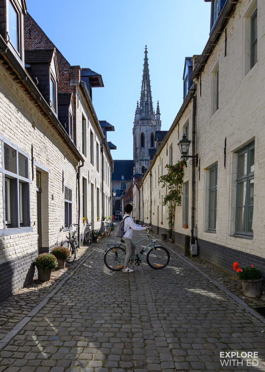 The Small Beguinage in Leuven near St Gertrude's Abbey