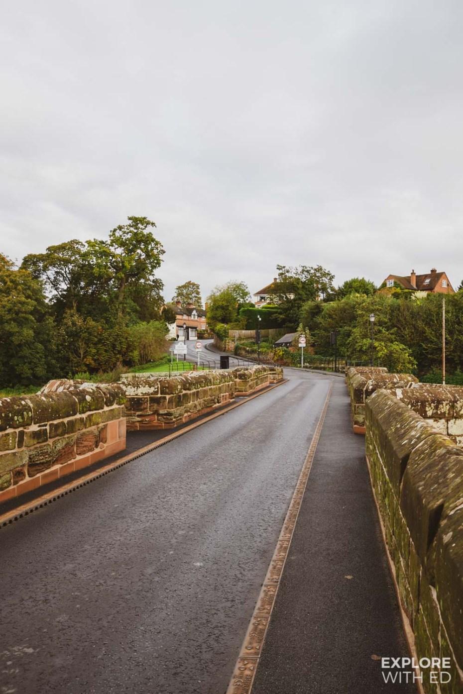 Farnham Bridge in Wrexham, the Gateway to Wales