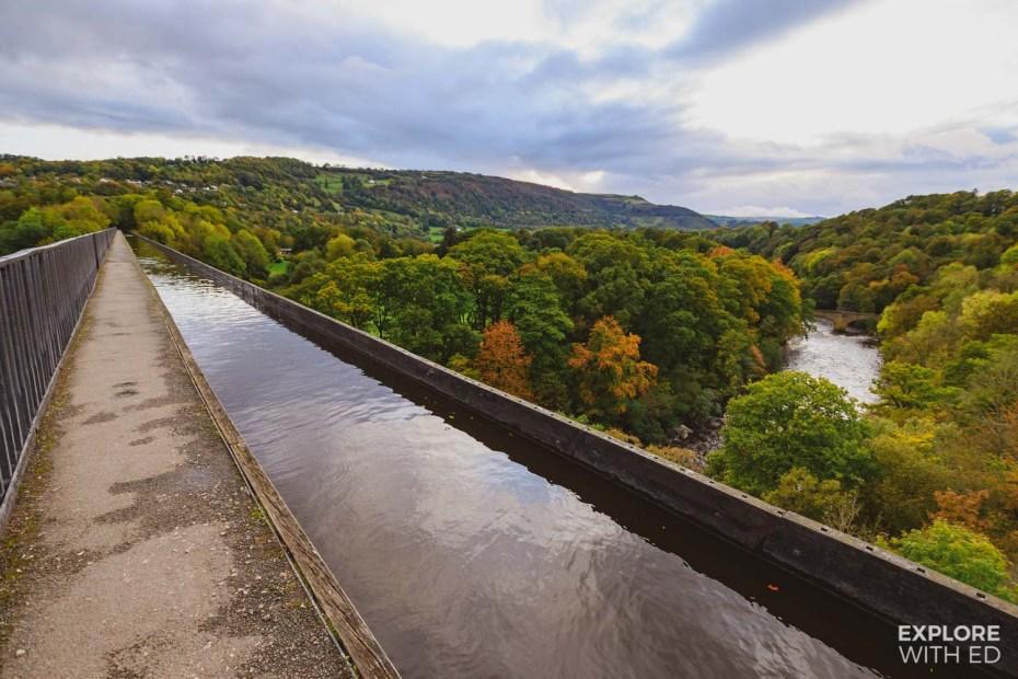 ThePontcysyllte Aqueduct in Wrexham, North Wales