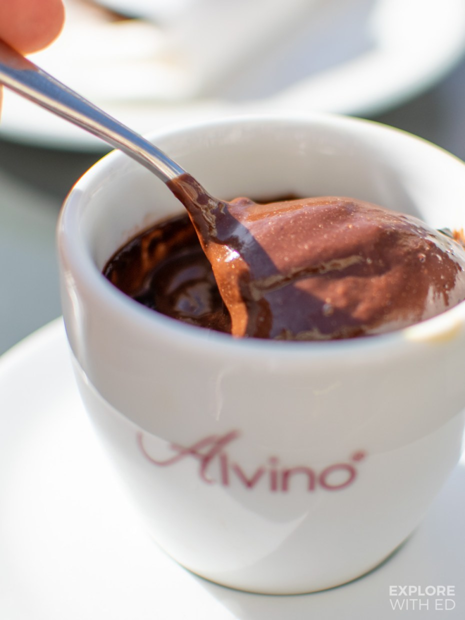 The best hot chocolates in Italy - Caffe Alvino, Lecce