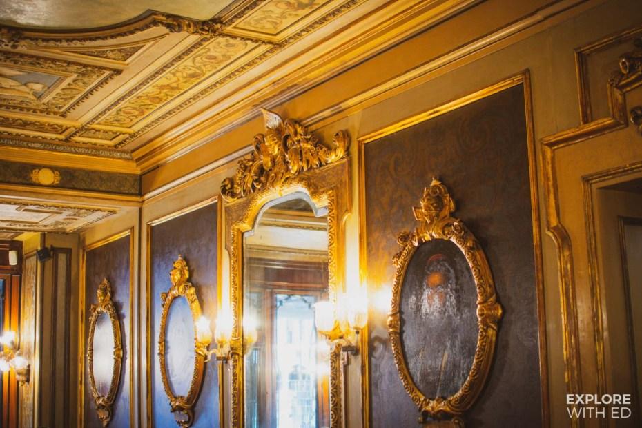 Inside Europe's Oldest Cafe, Caffe Florian, Venice, Italy