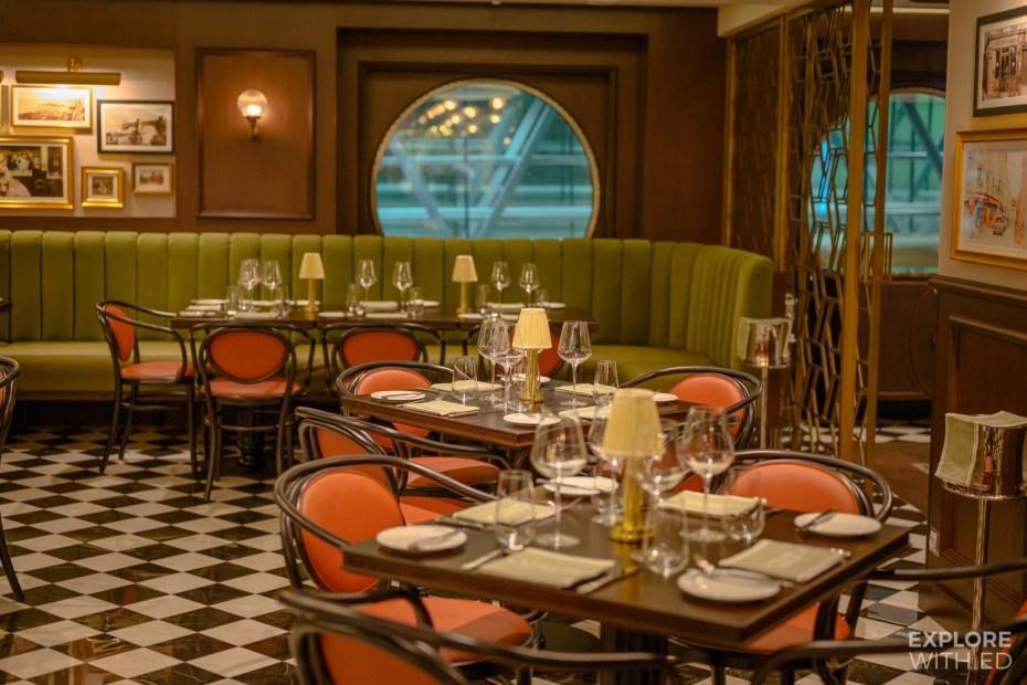 Restaurants onboard MSC Grandiosa