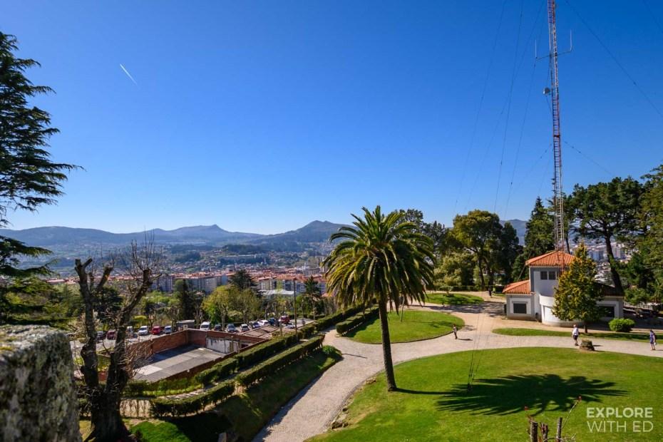 Castro Fortress overlooking Vigo