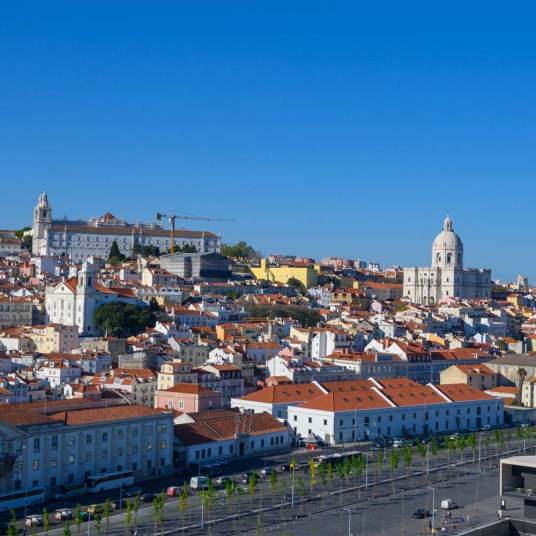 Sail away from Lisbon, Portugal