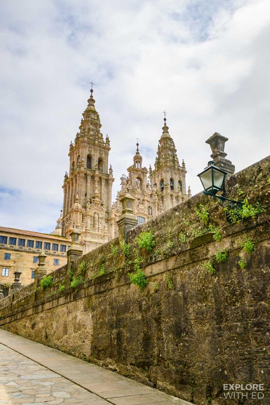 Church in Santiago de Compostela