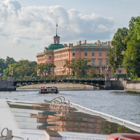 Canal cruise in St Petersburg