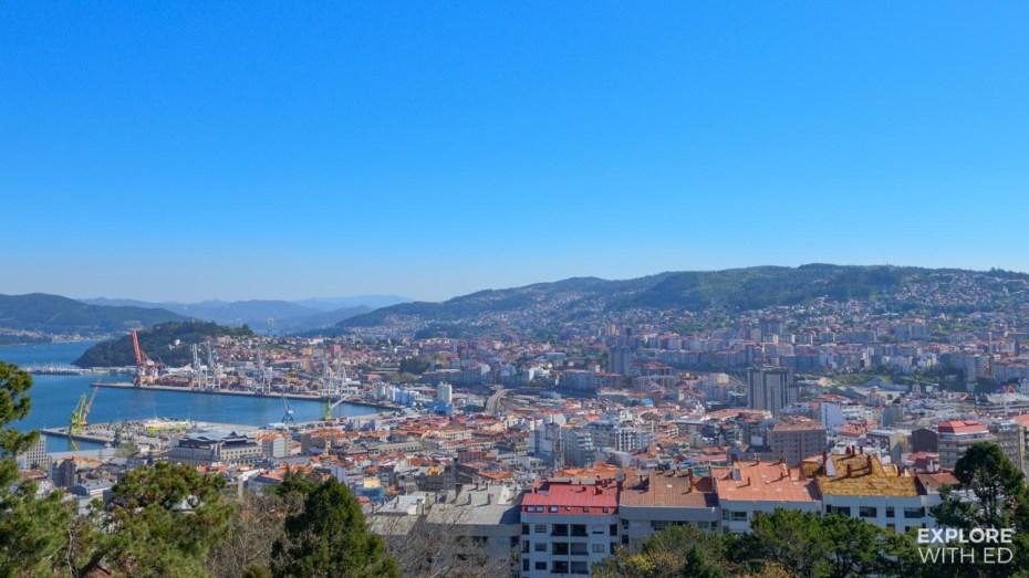 Overlooking Vigo