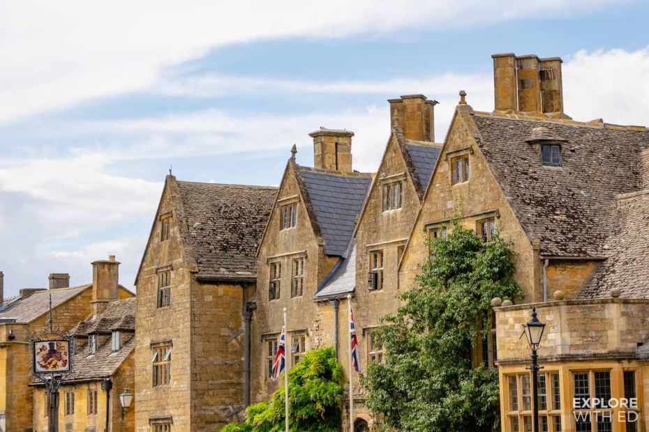 The Lygon Arms luxury hotel in The Cotswolds