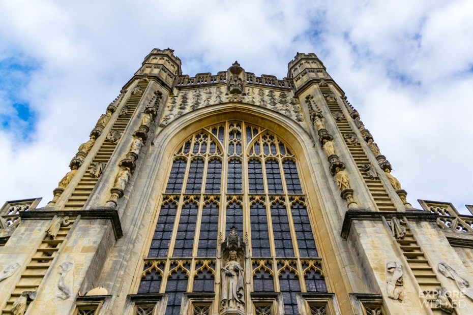 Bath Abbey and the ladder of angels