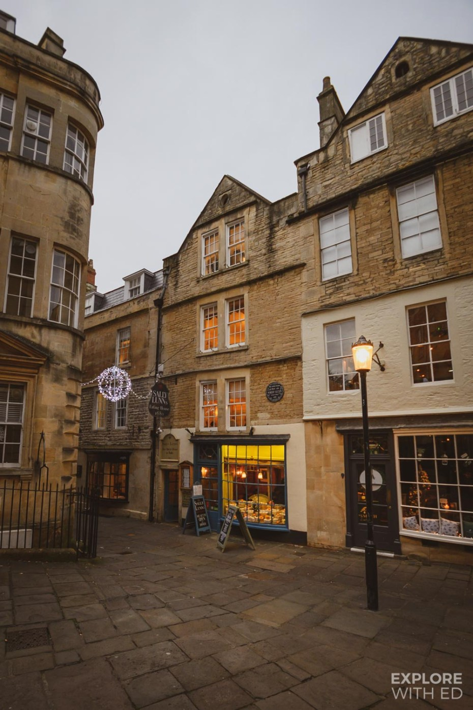 Sally Lunn's eating house in Bath, the oldest house in the city