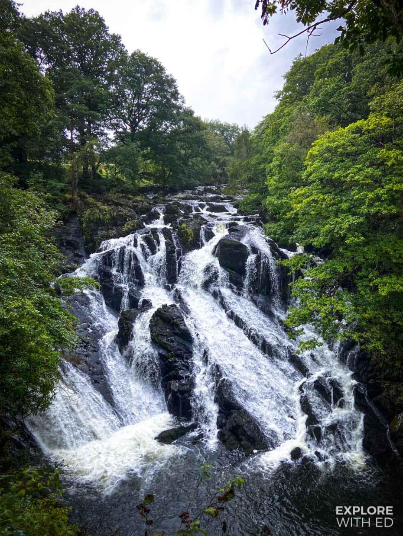 Swallow Falls near Betws-Y-Coed