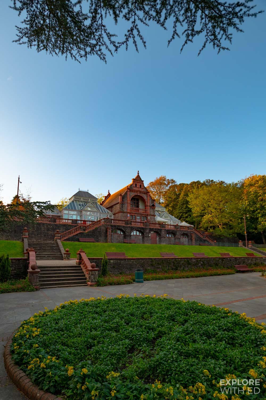 Belle Vue park Pavilion and Terrace