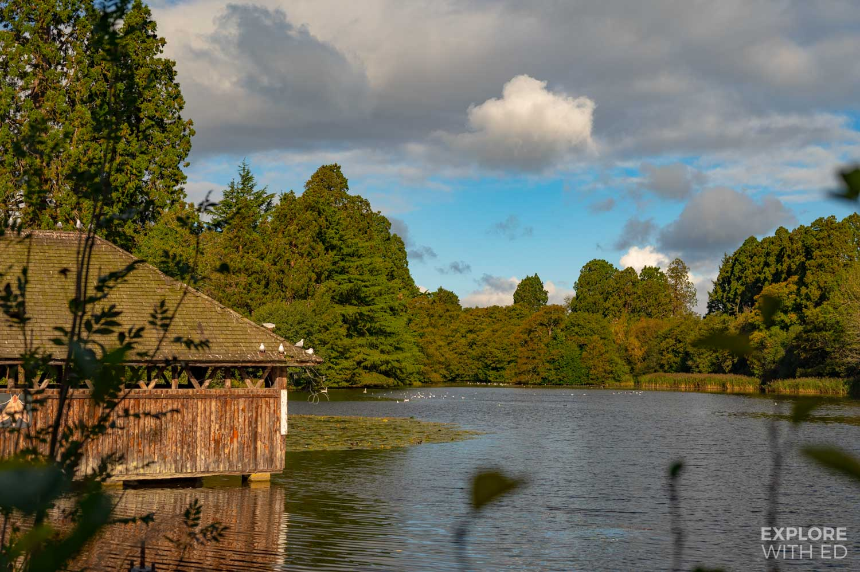 Tredegar House lake