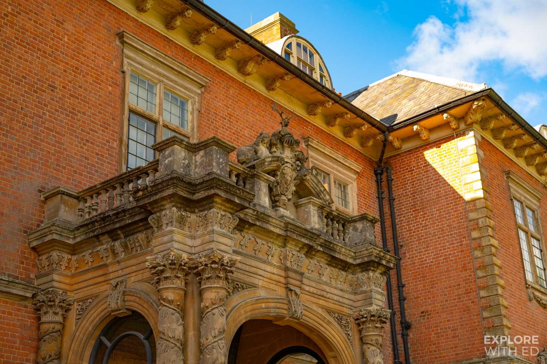 Tredegar House entrance