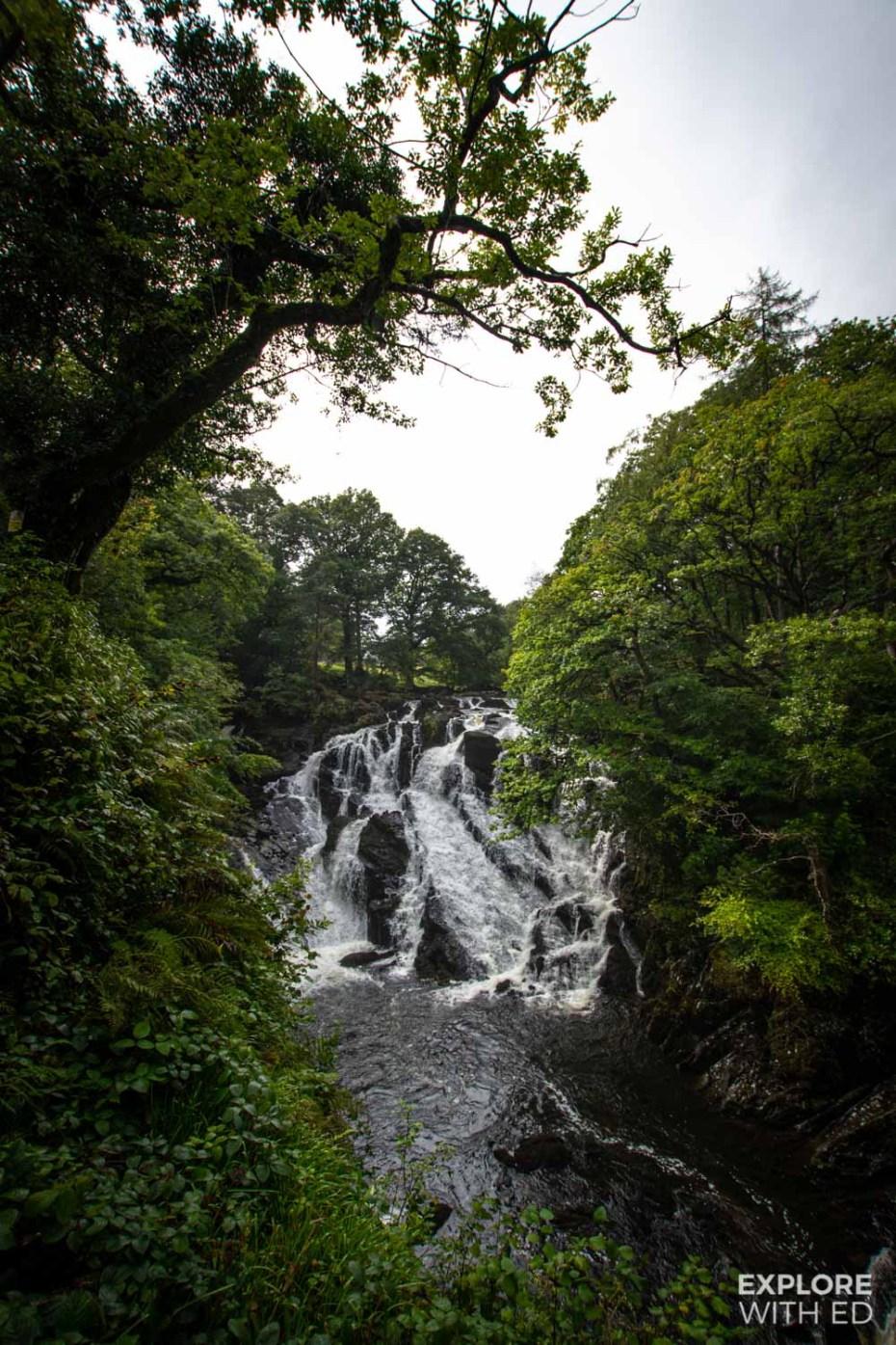 Swallow Falls near Betws-y-Coed, Wales