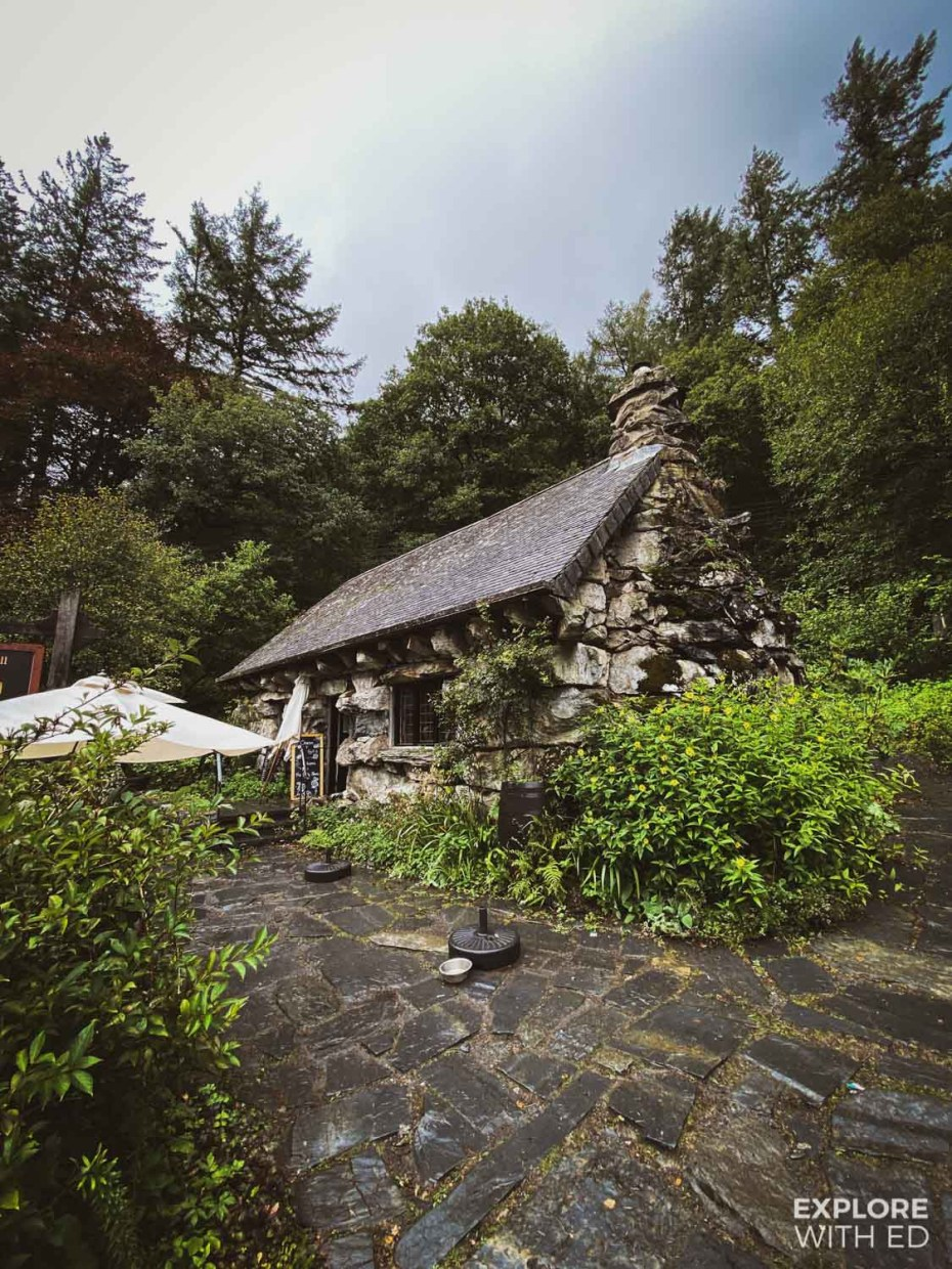 Ty Hyll 'The Ugly House' Tea Room near Betws-y-Coed, Wales