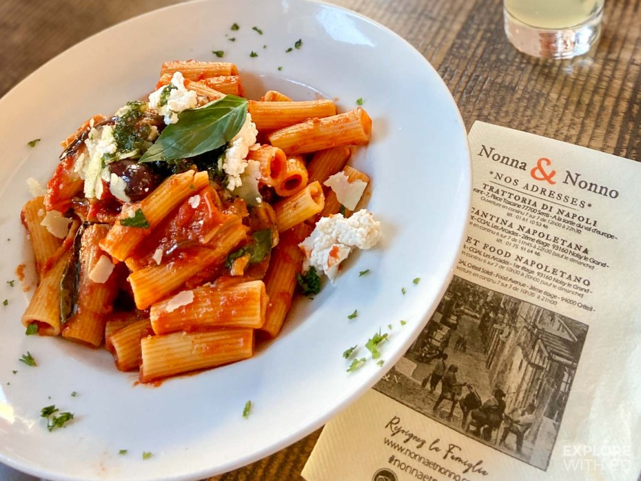 Italian restaurant near Val D'Europe in Serris