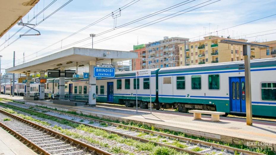 Brindisi Train station
