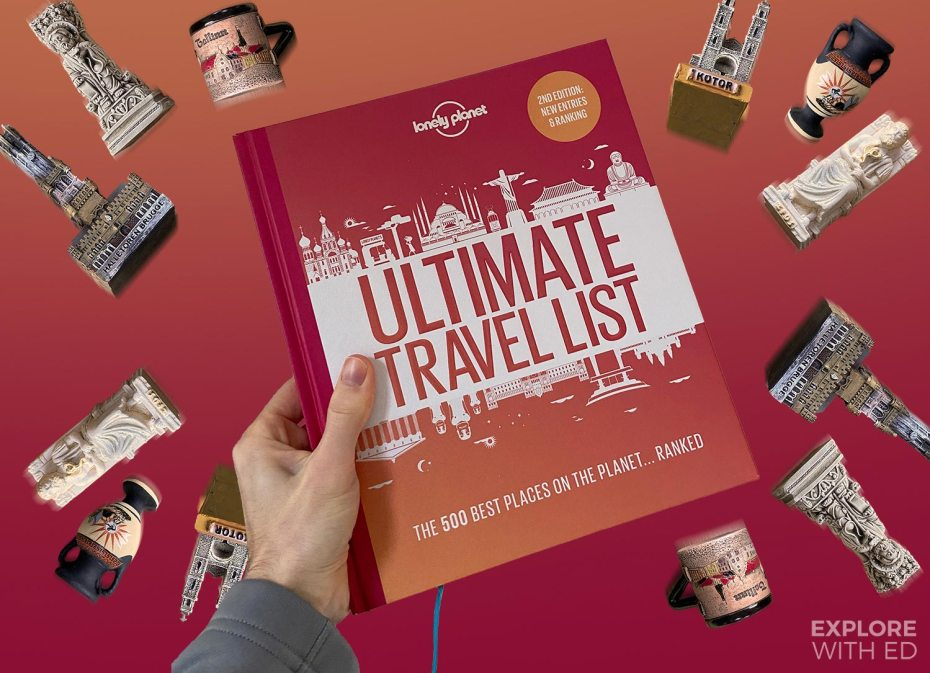 Lonely Planet Ultimate Travel List 2nd Edition Book Review