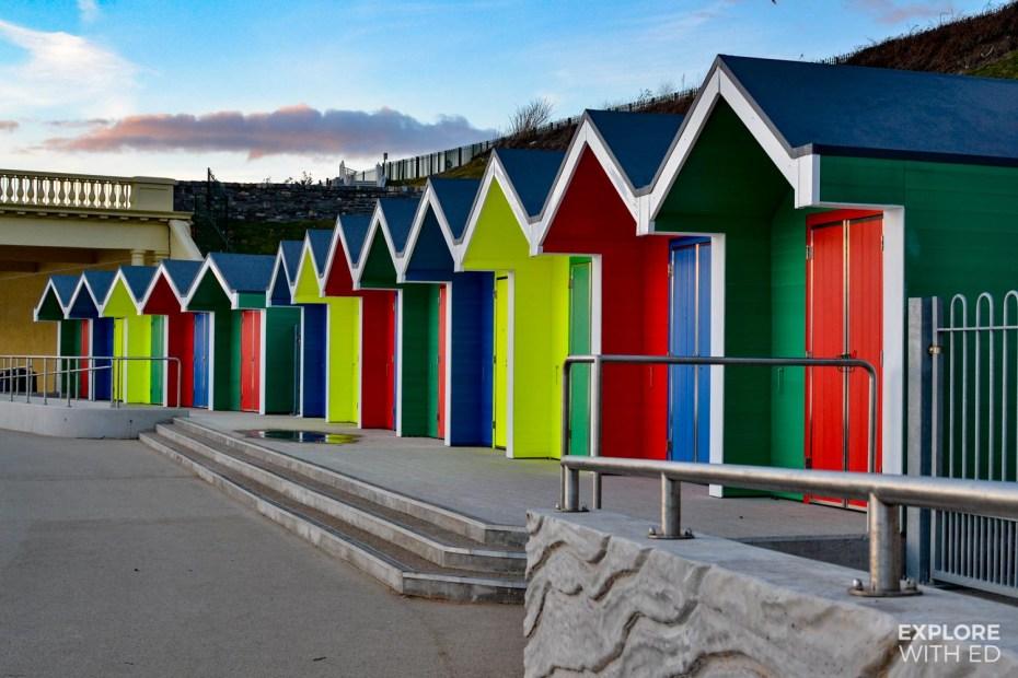 Barry Island huts