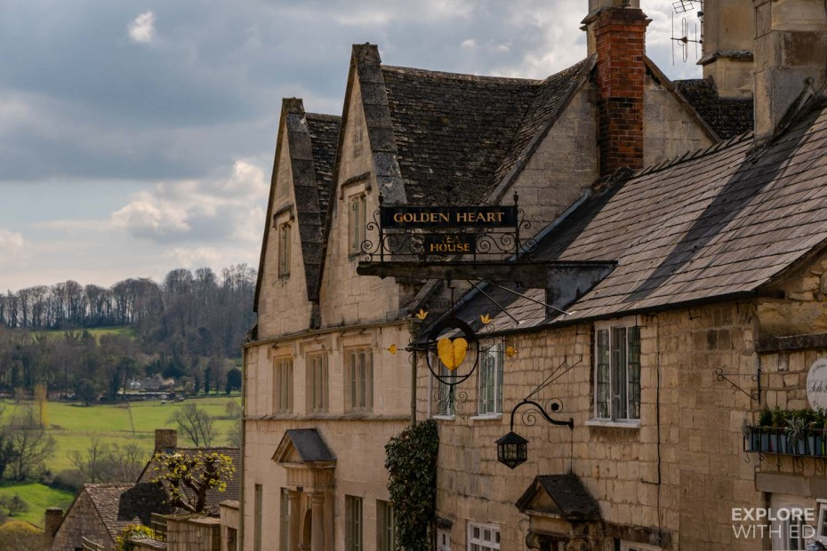 Golden Heart in Painswick