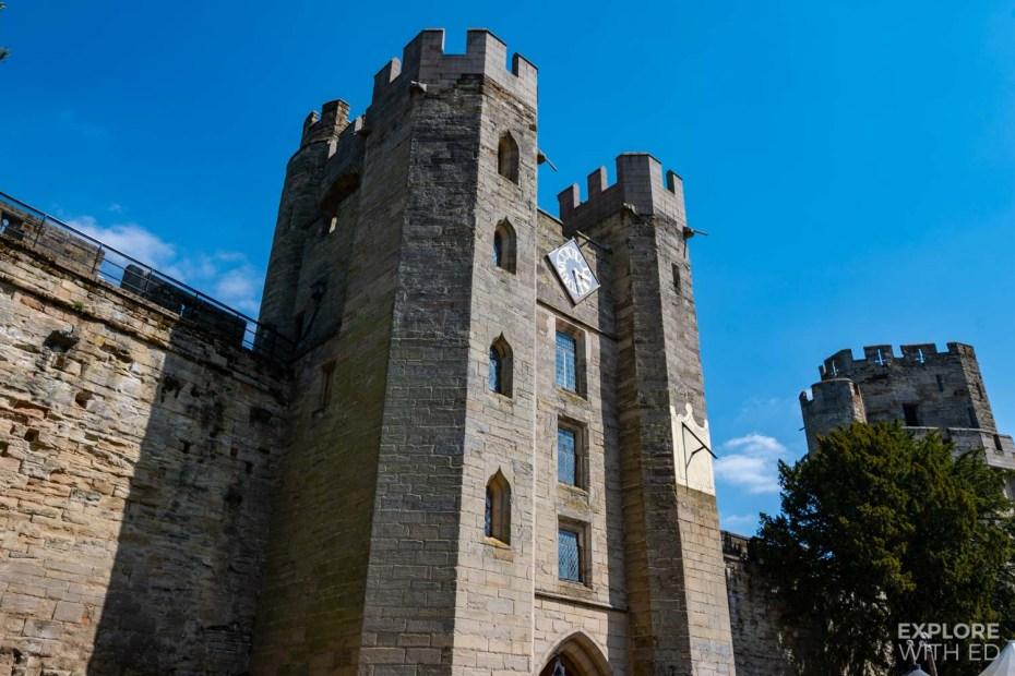 Warwick Castle Tower