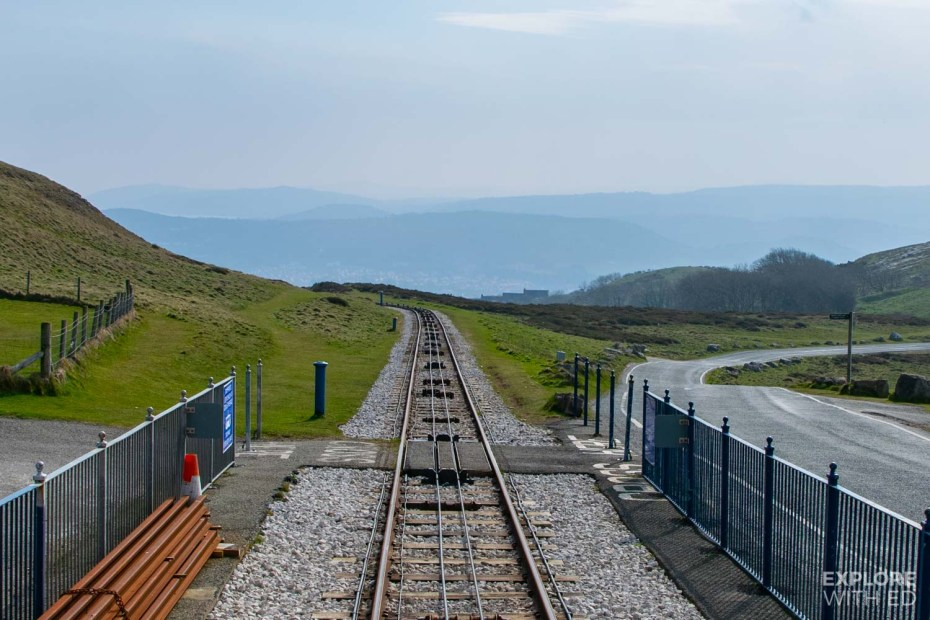 The Great Orme Tramway in Llandudno