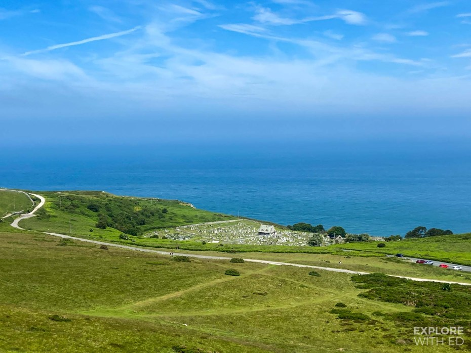 Church and churchyard on the Great Orme