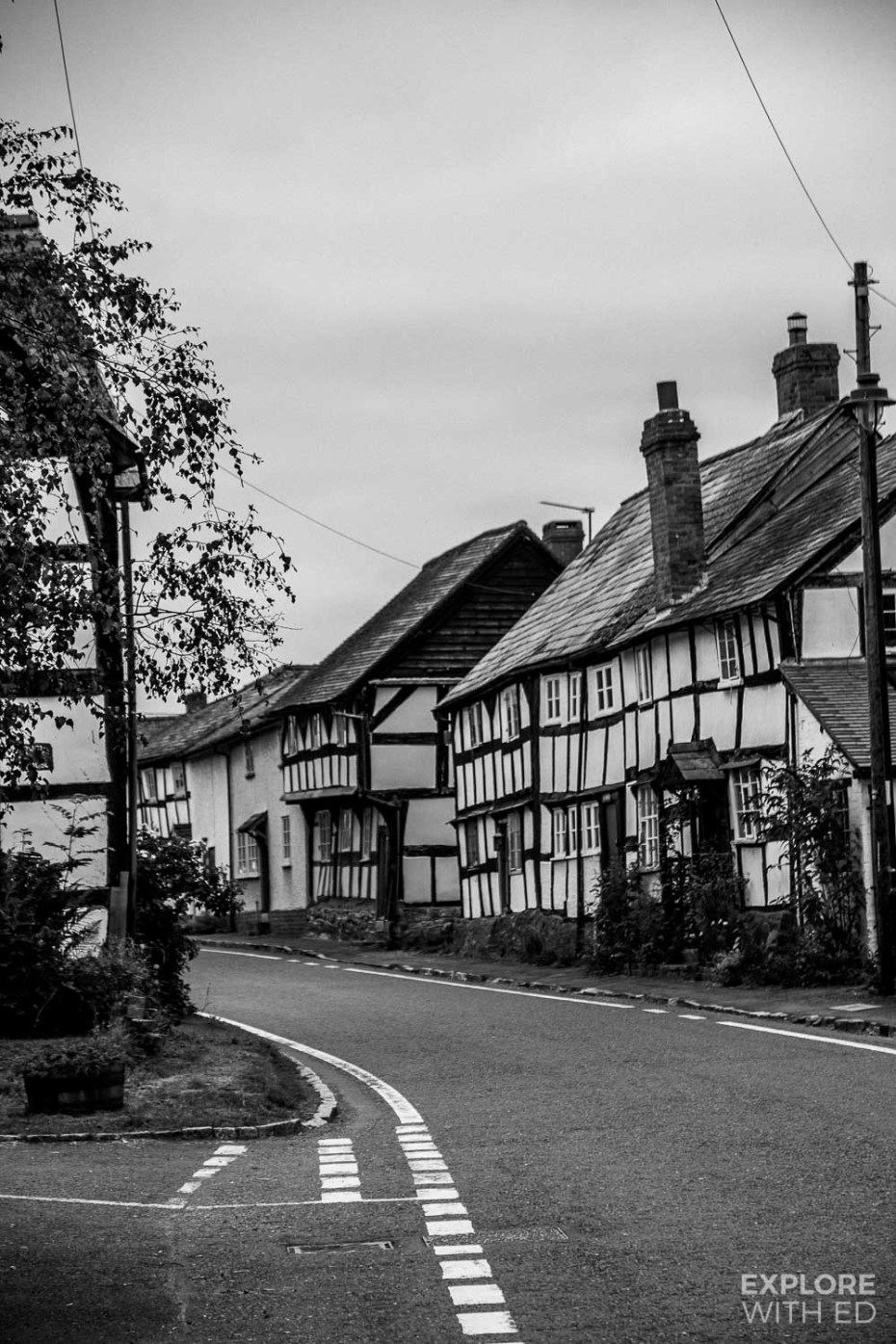 Pembridge black and white houses