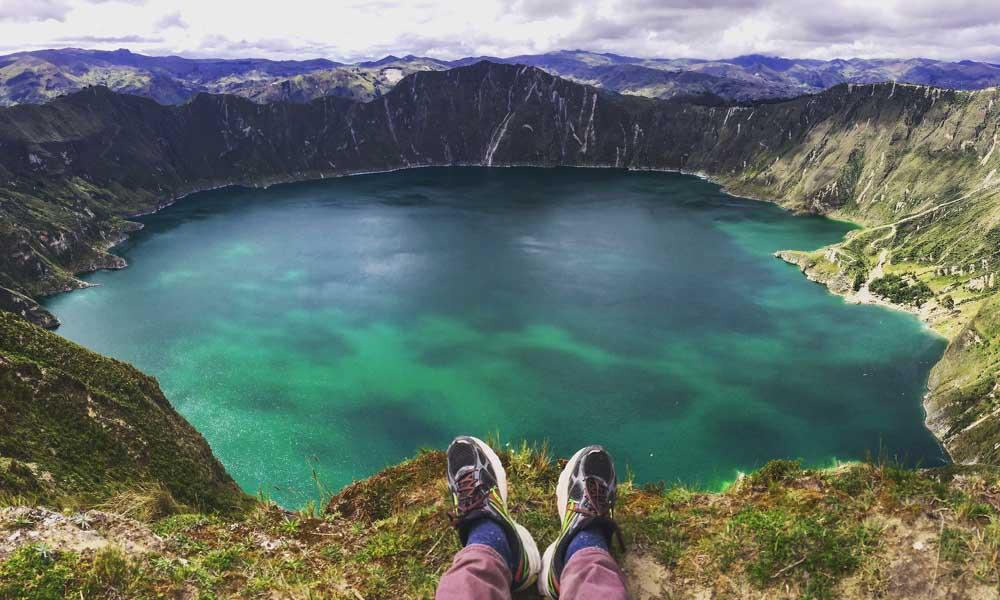 Lake Quilatoa, luxury Ecuador tours
