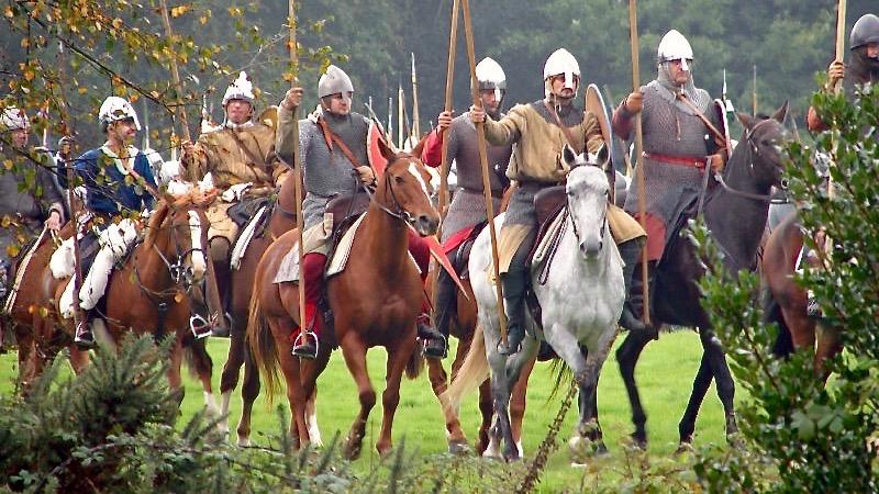 Battle of Hastings Norman Calvary