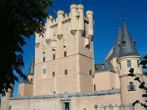 Alcazar of Segovia Torre Juan II