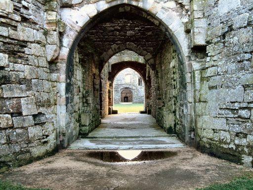 Reflections of Beaumaris Castle
