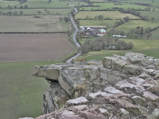 Beeston Castle View