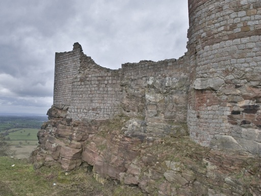 Beeston Castle Walls