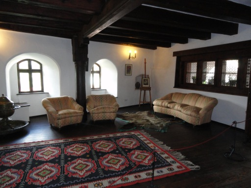 Bran Castle furnishings