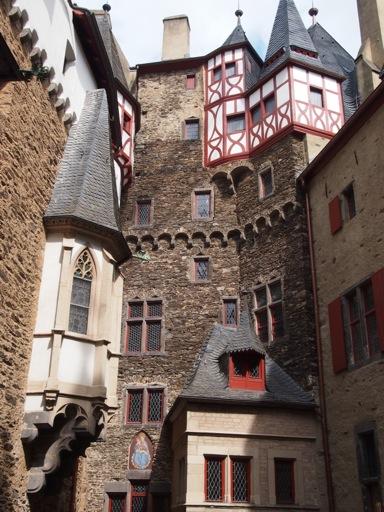 Burg Eltz Courtyard