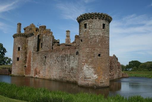 Caerlaverock Castle Exterior