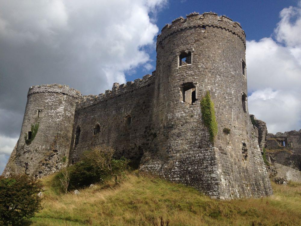 Carew Castle Drum Towers