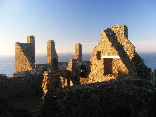 Castles in Northern Ireland - Dunluce