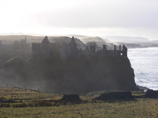 Castles in Northern Ireland - Dunluce